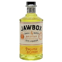 Jawbox Pineapple and Ginger Gin Liqueur